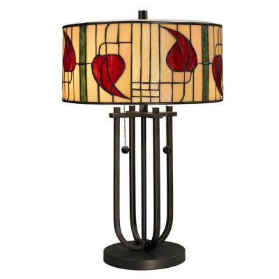 22.5 in. Macintosh Dark Bronze Table Lamp
