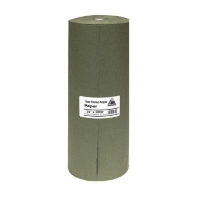 15 in. x 1000 ft. Green Masking Paper