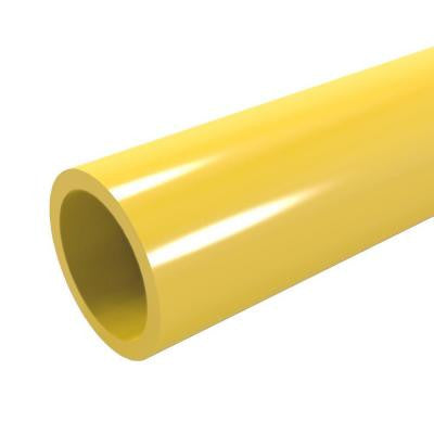 1 in. x 5 ft. Furniture Grade Sch. 40 PVC Pipe in Yellow
