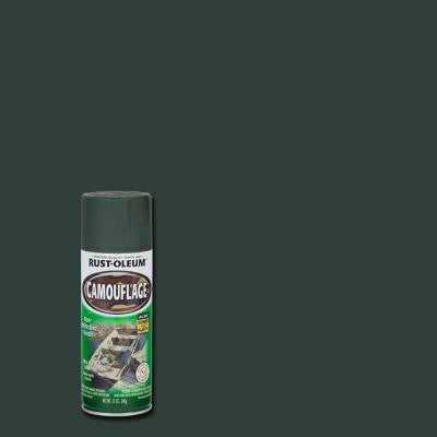 12 oz. Deep Forest Green Camouflage Spray Paint (Case of 6)
