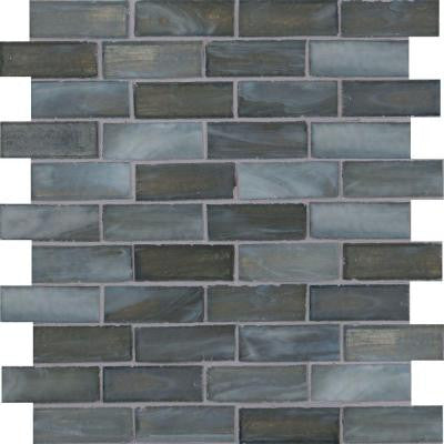 Oceano 12 in. x 12 in. x 6 mm Glass Mesh-Mounted Mosaic Tile (15 sq. ft. / case)