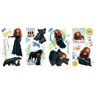 Brave Peel and Stick Wall Decals