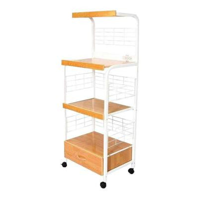17 in. Microwave Utility Cart