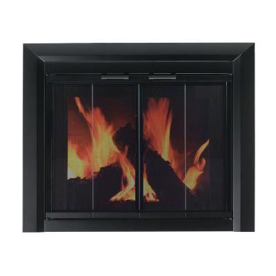 Clairmont Medium Glass Fireplace Doors