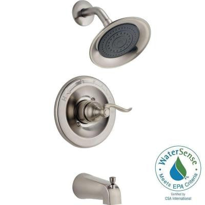 Windemere 1-Handle Tub and Shower Faucet in Brushed Nickel