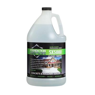 SX5000 1 gal. Penetrating Clear Concrete and Masonry Water Repellent Sealer with Salt Guard