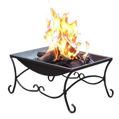 27 in. Sturdy Steel Construction Classic Fire Pit