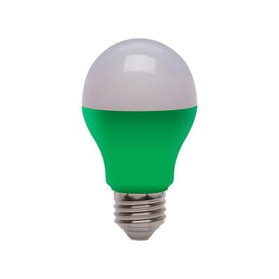 25W Equivalent A19 LED Light Bulb - Green