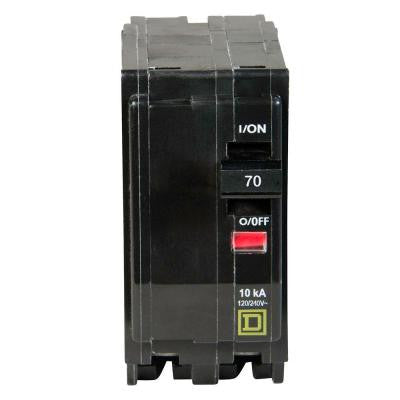 QO 70 Amp Two-Pole Circuit Breaker