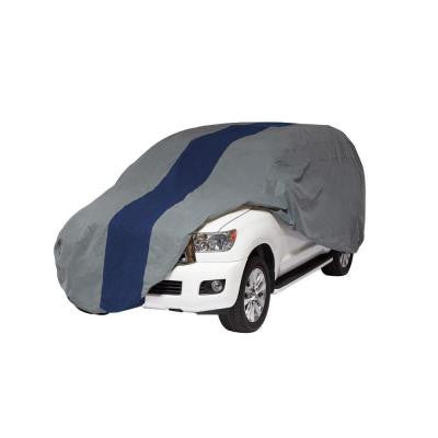 Double Defender SUV or Pickup with Shell/Bed Cap Semi-Custom Cover Fits up to 19 ft. 1 in.