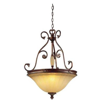 Freemont Collection 3-Light Antique Bronze Hanging Pendant
