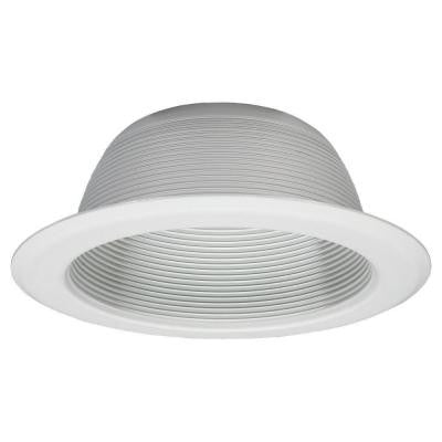 6 in. White Recessed Incandescent Lighting
