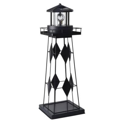 Solar Powered Outdoor LED Lighthouse
