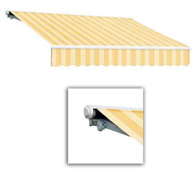 14 ft. Galveston Semi-Cassette Manual Retractable Awning (120 in. Projection) in Almond Multi