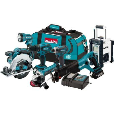 18-Volt LXT Lithium-Ion Combo Kit (7-Tool)