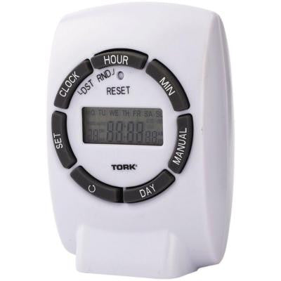 15-Amp 7-Day Programmable Digital Polarized Timer