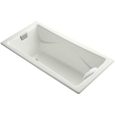 Tea-for-Two 5.75 ft. Reversible Drain Soaking Tub in Dune