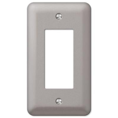 Devon 1 Rocker Wall Plate - Pewter
