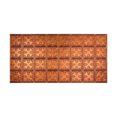 Traditional 10 - 2 ft. x 4 ft. Glue-up Ceiling Tile in Antique Bronze