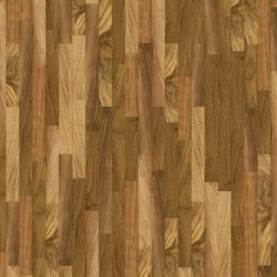 10 ft. Wide Natural Walnut Vinyl Universal Flooring Your Choice Length