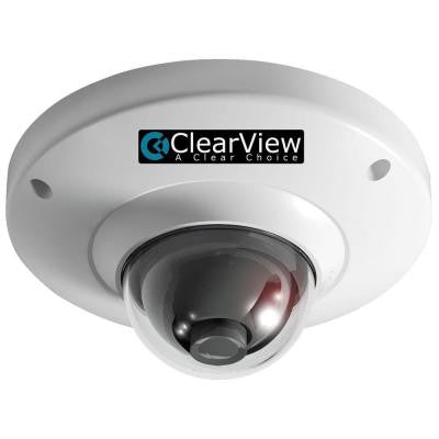 Wired 700 TVL Indoor Vandal-Proof Mini Dome OSD 3.6 Surveillance Camera