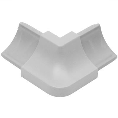 Dilex-HKW Classic Grey 1 in. x 2 in. PVC Outside Corner