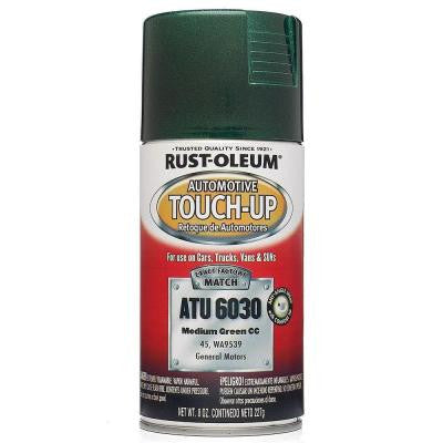 8 oz. Medium Green Auto Touch-Up Spray (Case of 6)