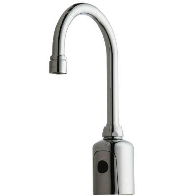 HyTr83 DC-Powered Touchless Lavatory Faucet in Chrome