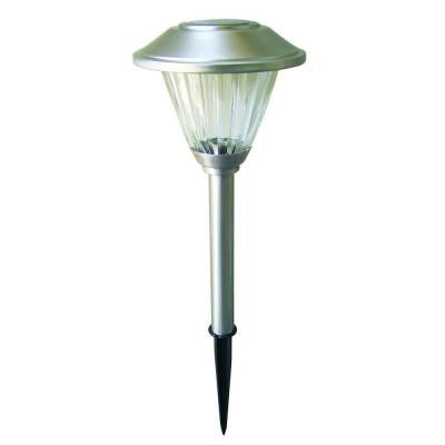 Stainless Solar LED Pathway Light Set (8-Pack)