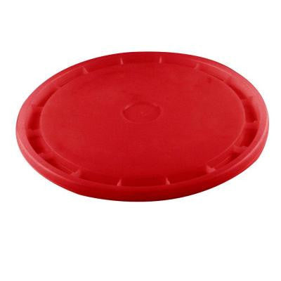 Red Reusable Easy Off Lid for 5-Gal. Pail (Pack of 3)