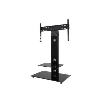 TV Floor Stand with Mount for 32 in. to 55 in. Screens - Black