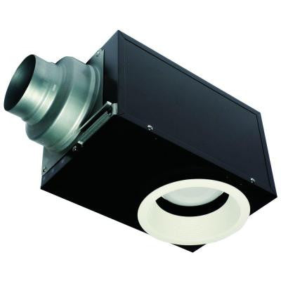 Recessed 80 CFM Ceiling Exhaust Fan with LED Light, ENERGY STAR