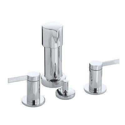 Stillness 2-Handle Bidet Faucet in Vibrant Brushed Nickel