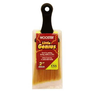 2 in. Angle Sash Synthetic Blend Little Genius Brush (25-Pack)