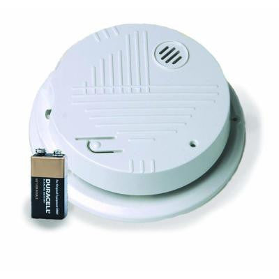 Hardwired Interconnected Photoelectric Smoke Alarm with Battery Backup and Temporal 3 Sounder