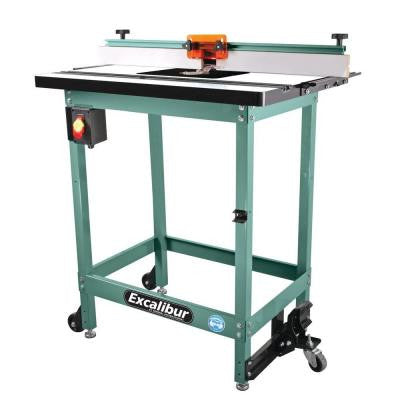 Excalibur Floor Router Table Kit