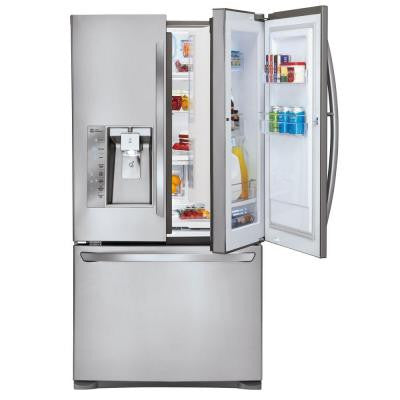 28.6 cu. ft. French Door Refrigerator with Dual Ice Makers in Stainless Steel Door-In-Door Design