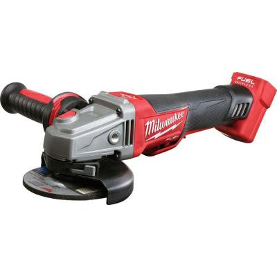 M18 FUEL 18-Volt Lithium-Ion Cordless Brushless 4-1/2 in./5 in. Braking Grinder (Tool-Only)