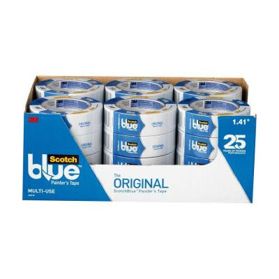 ScotchBlue 1.41 in. x 60 yds. Original Multi-Use Painter's Tape (Case of 24)
