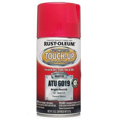 8 oz. Bright Red Auto Touch-Up Spray (Case of 6)