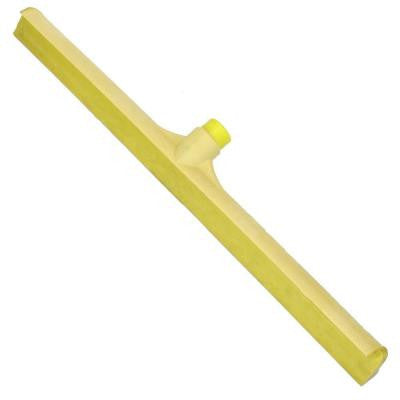 23.75 in. 1-Piece Yellow Rubber Squeegee (Case of 6)