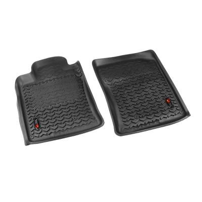 Floor Liner Front Pair Black 2010-2013 Toyota for Runner