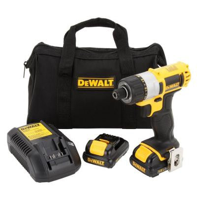 12-Volt Max Lithium-Ion 1/4 in. Cordless Screwdriver Kit