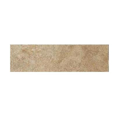 Aspen Lodge Morning Breeze 3 in. x 12 in. Porcelain Bullnose Floor and Wall Tile