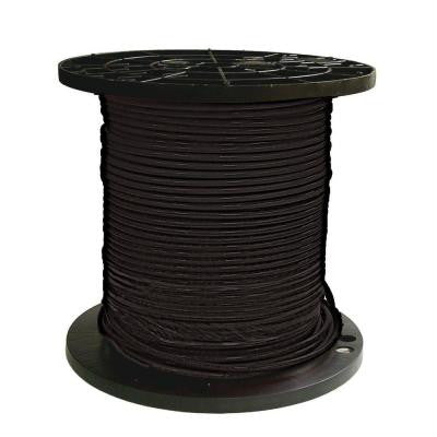 500 ft. 8 Stranded THHN Black Cable