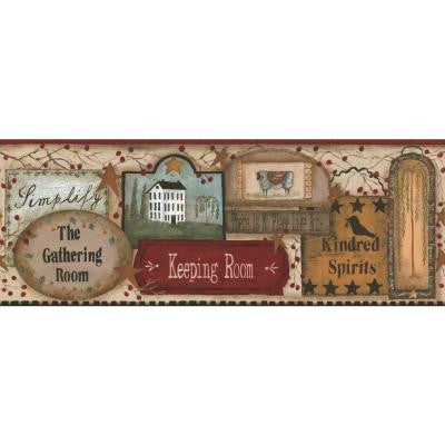 9 in. The Gathering Room Border