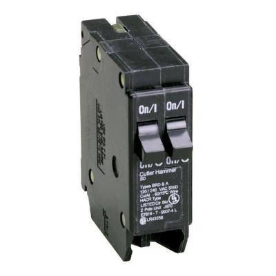 Type BR 15 Amp Single-Pole BD Duplex Circuit Breaker