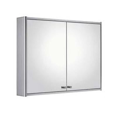 Medicinehaus 31-1/2 in. x 24 in. Surface-Mount Medicine Cabinet in Aluminum
