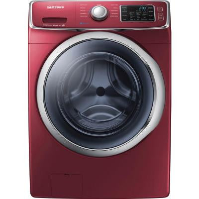 4.2 cu. ft. Front Load Washer with Steam in Merlot, ENERGY STAR