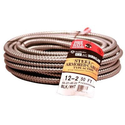 12/2 X 50 ft. BX/AC-90 Cable